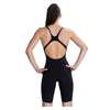 Women Lzr Element Openback Kneeskin Swimwear, Black