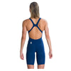 Singapore Speedo Women Lzr Elite 2 Openback Kneeskin Swimwear, Fast Blue/Copper