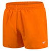 Men Fitted Leisure Swim Shorts, Orange