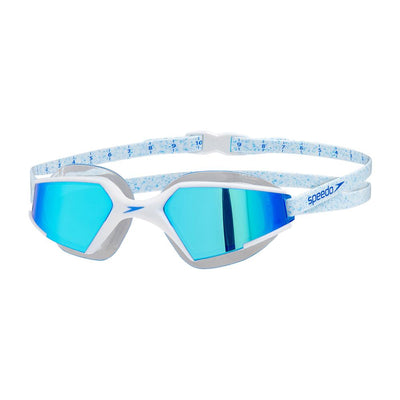 Unisex Aquapulse Max 2 Mirror Goggles, White