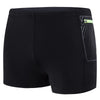 Men Contrast Pocket Aquashorts