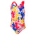 Girls Disney Mickey Mouse Allover One Piece Swimsuit