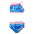 Girls Disney Frozen Allover Two Piece Swimsuit