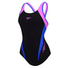Women Logo Splice Muscleback Swimsuit