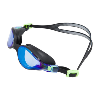 Women Virtue Mirror Goggle, Black/Blue