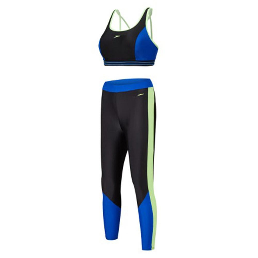 766e4c16164 Singapore Speedo Swimwear Women Hydractive Crop Top And Legging Swimsuit