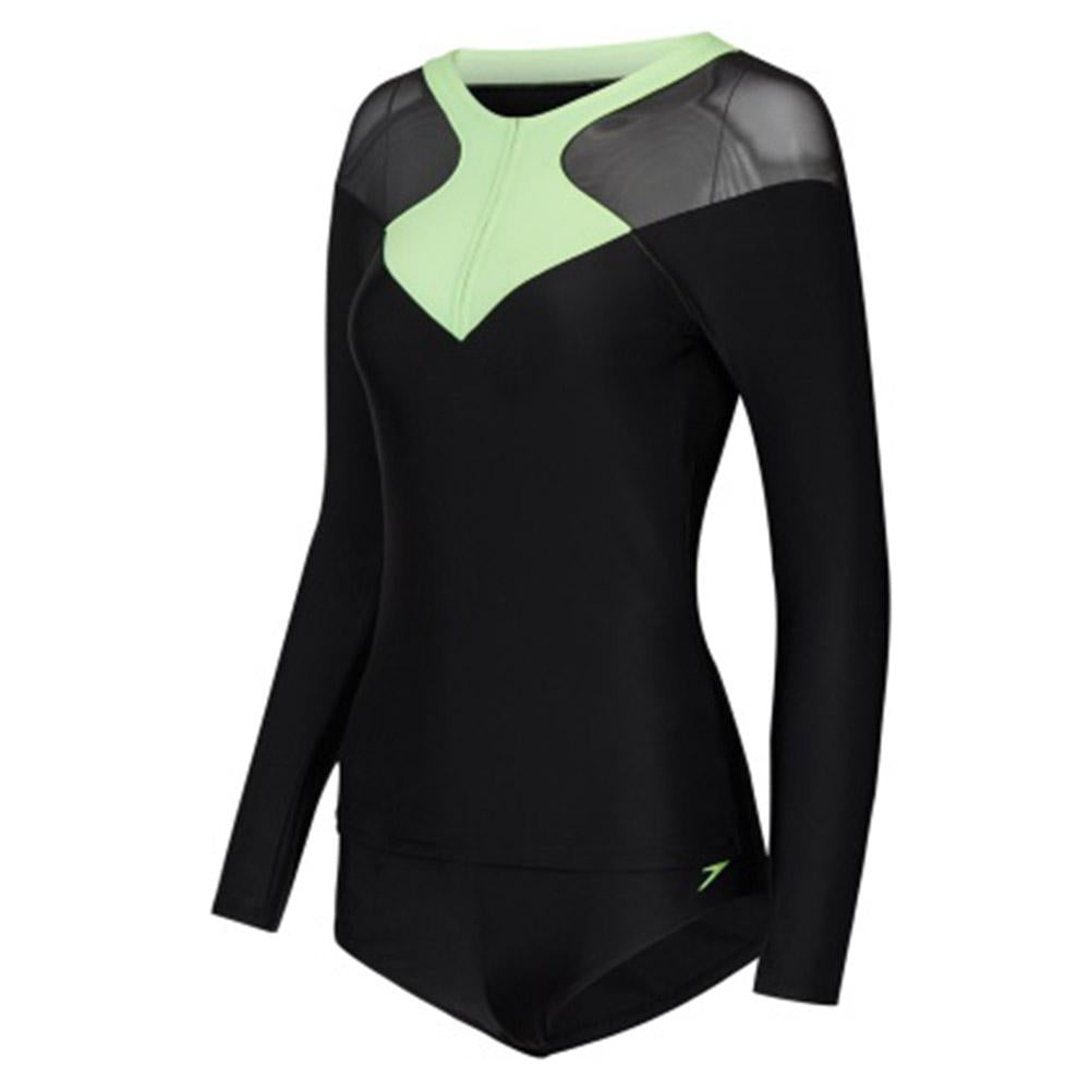 5b9e91550def8 Buy Speedo Women Hydractive Long Sleeve Top And Brief Swimsuit Online in  Singapore | Royal Sporting House
