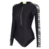 Women Reflect Wave Long Sleeve Swimsuit