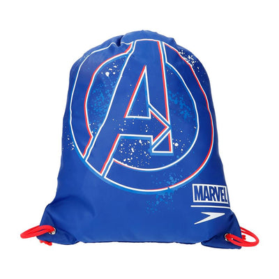 Singapore Speedo Marvel Avengers Wet Kit Bag, Blue/Red