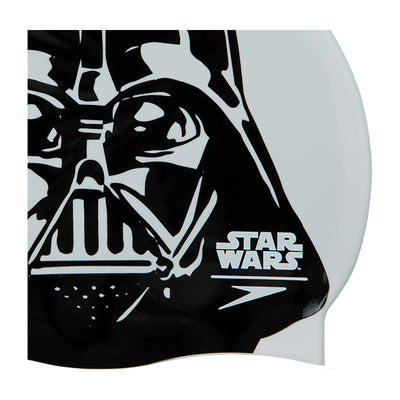 Singapore Speedo Unisex Star Wars Darth Vader Swim Cap, White/Black
