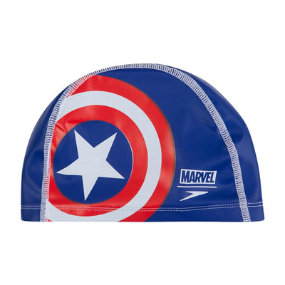 Kids Marvel Captain America Pace Cap, Blue/Red/White