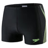 Men Placement Aquashort, Black/Green/Grey