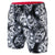 Men Star Wars Allover Watershort, Black/White/Red