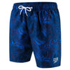 Singapore Speedo Men Marvel Allover Watershort, Blue/Red