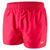 Men Fitted Leisure Swim Shorts, Red