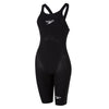 Women Fastskin LZR Pure Valor Openback Kneeskin, Black