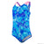Infants Disney Frozen Allover Swimsuit, Blue/Turquoise/Pink