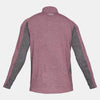 Men Swyft 1/4 Zip Long Sleeve T-shirt, Maroon
