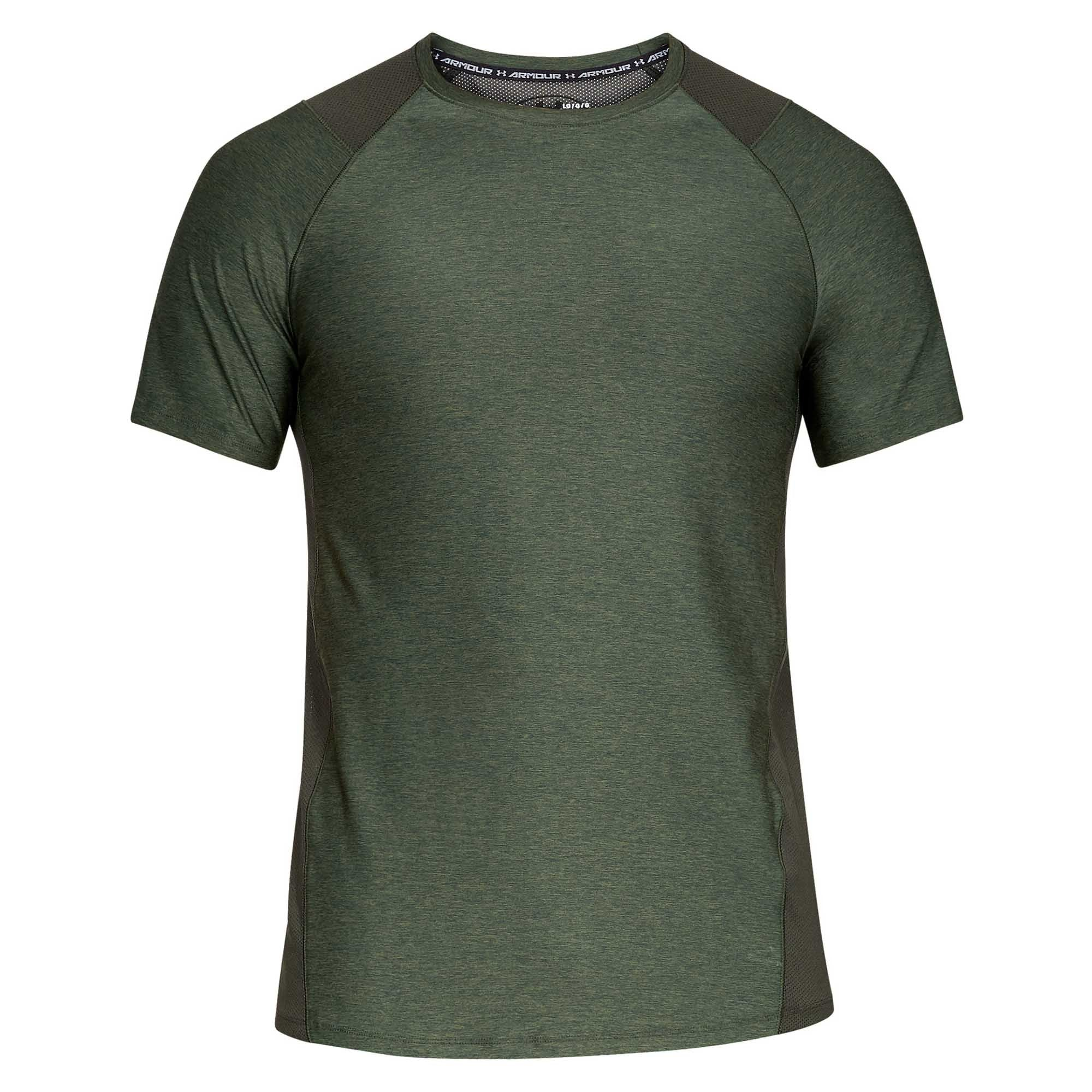 deb2fabe56 Buy Under Armour Men MK1 Short Sleeve T-Shirt, Green Online in Singapore |  Royal Sporting House