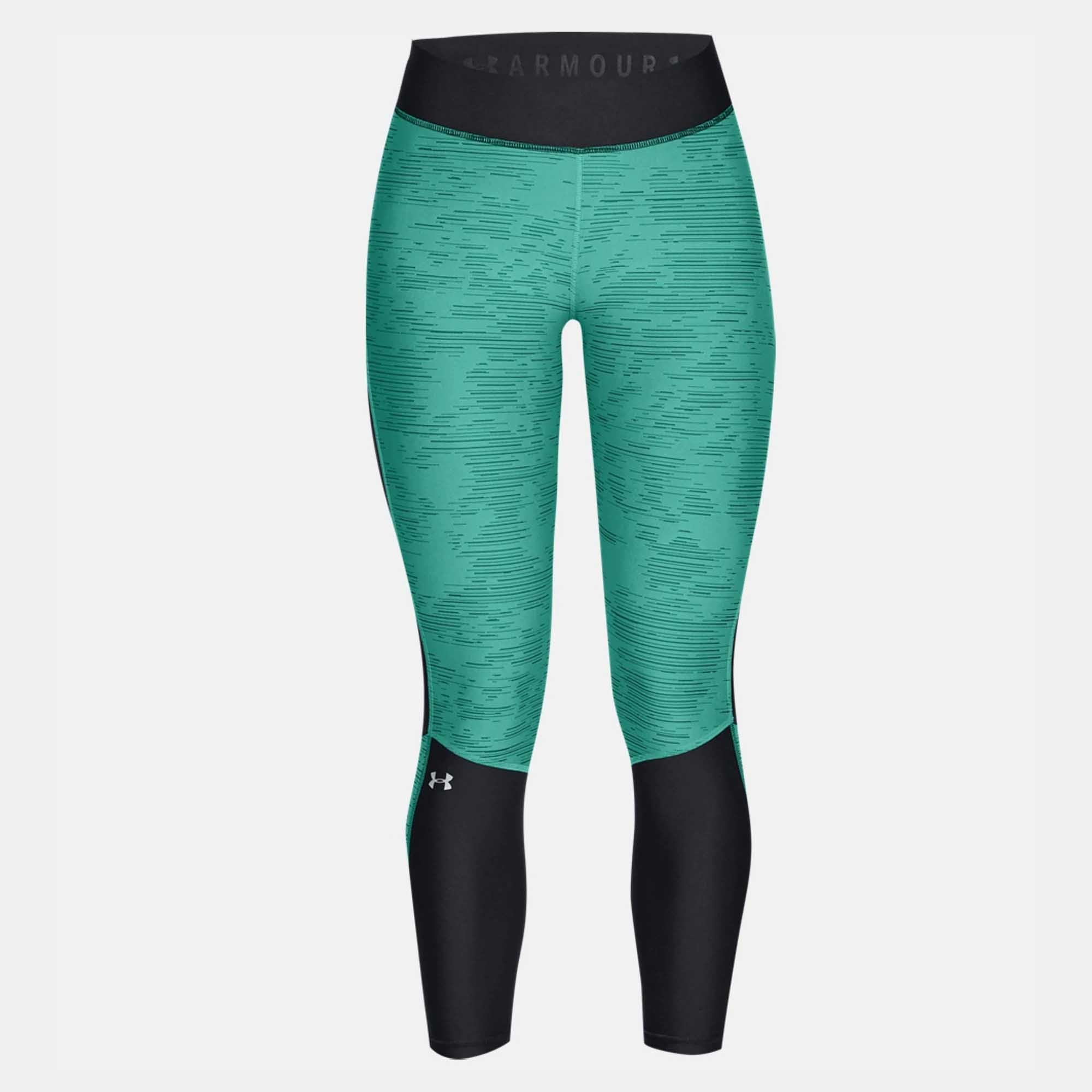7c3fc7b8ad Buy Under Armour Women Heatgear Armour Jacquard Ankle Crop Leggings ...