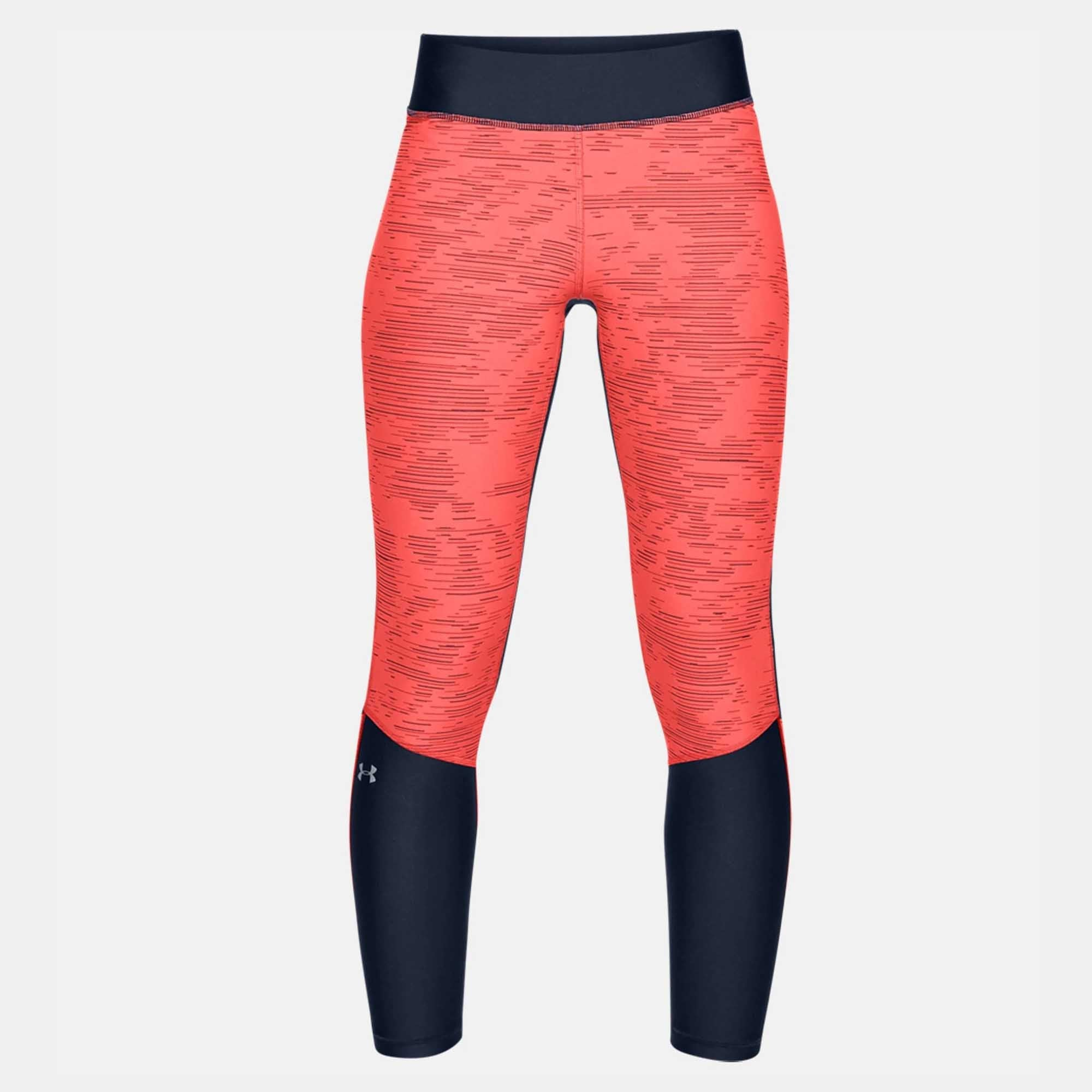 33b63e202b Buy Under Armour Women Heatgear Armour Jacquard Ankle Crop Leggings, Silver  Online in Singapore | Royal Sporting House