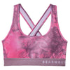 Women Armour Mid Crossback Printed Sports Bra