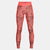Women HeatGear Armour Printed Leggings
