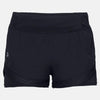 Singapore Under Armour Shorts Women Qualifier Speedpocket 2-In-1 Shorts