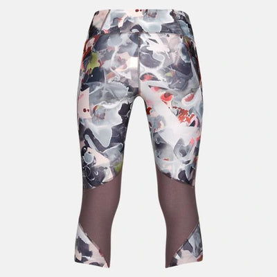 Women Fly Fast Printed Capri