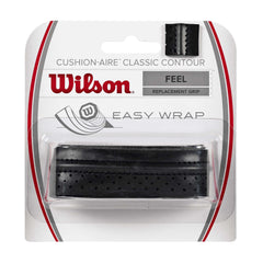 Singapore Wilson Cushion-Aire Classic Contour Replacement Overgrip, Black