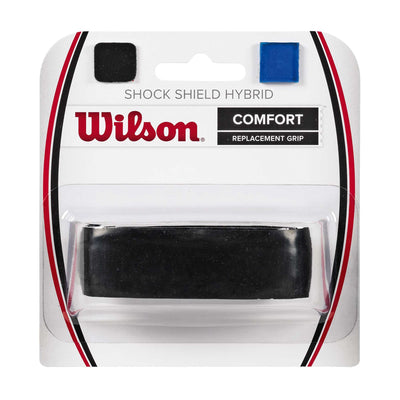 Singapore Wilson Shock Shield Hybrid Overgrip, Black