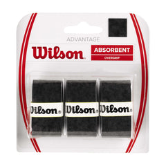 Singapore Wilson Advantage Overgrip, Black