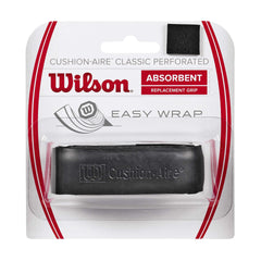 Singapore Wilson Cushion-Aire Classic Perforated Overgrip, Black