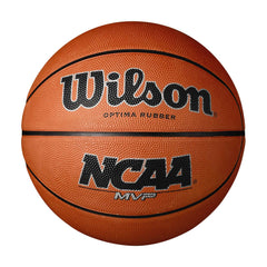 Singapore Wilson Ncaa Mvp Rubber Basketball, Red