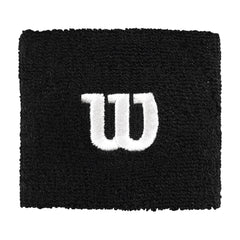 Singapore Wilson W Logo Wristband, Black/White