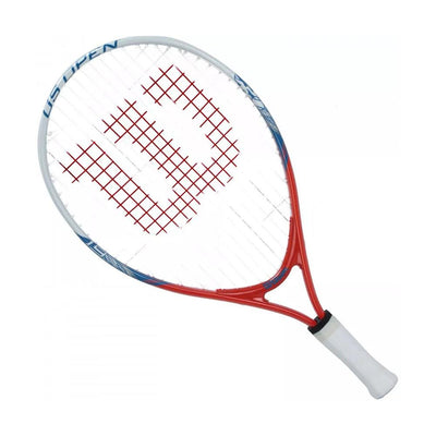 Singapore Wilson Kids Us Open Racket, White/Red