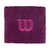 W Logo Wristband, Dark Purple
