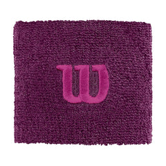 Singapore Wilson W Logo Wristband, Dark Purple