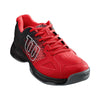 Men Kaos Stroke, Red/Black