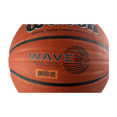 Wave Phenom Rubber Basketball, Red