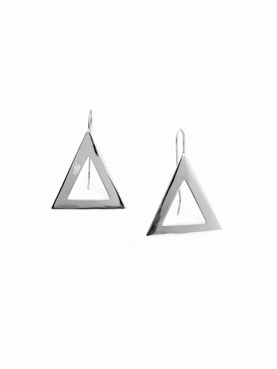New! Medium Pyramid Earrings - Fish hook
