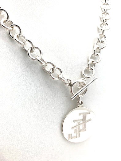 Jack and Jill Single Link Necklace