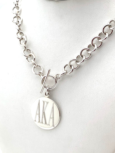 AKA Single Link Necklace