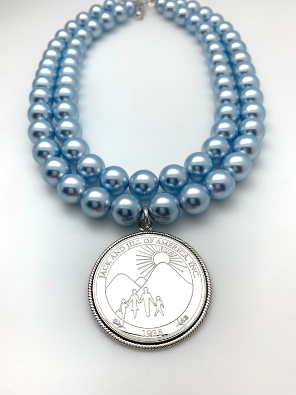 Jack and Jill Double Strand Necklace