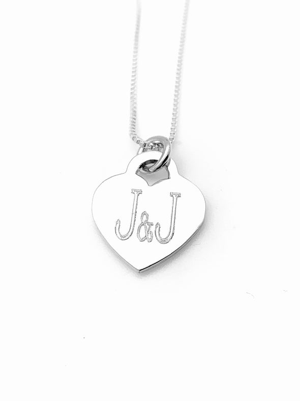 J & J Heart Necklace