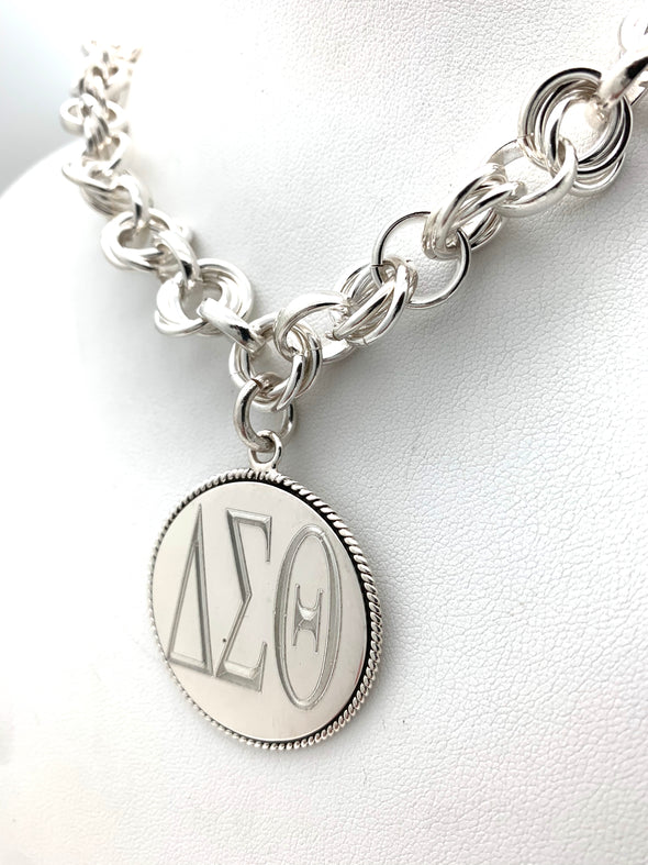 DST Triple Link Necklace