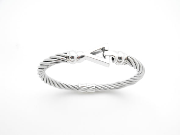 Cable Triangle Bracelet