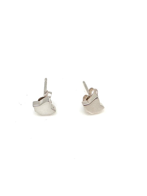 New!  Tiny Ivy Leaf Stud Earrings
