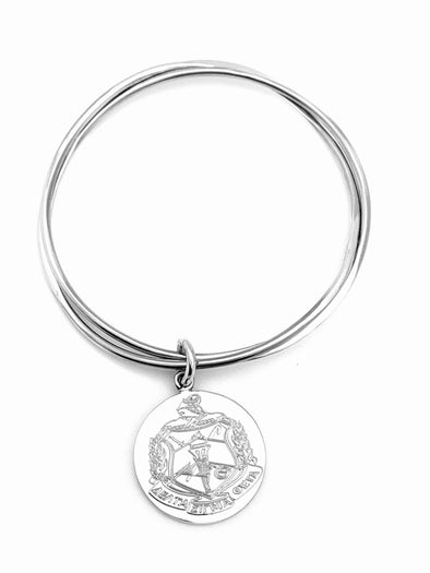 DST Crest Intertwine Bangle