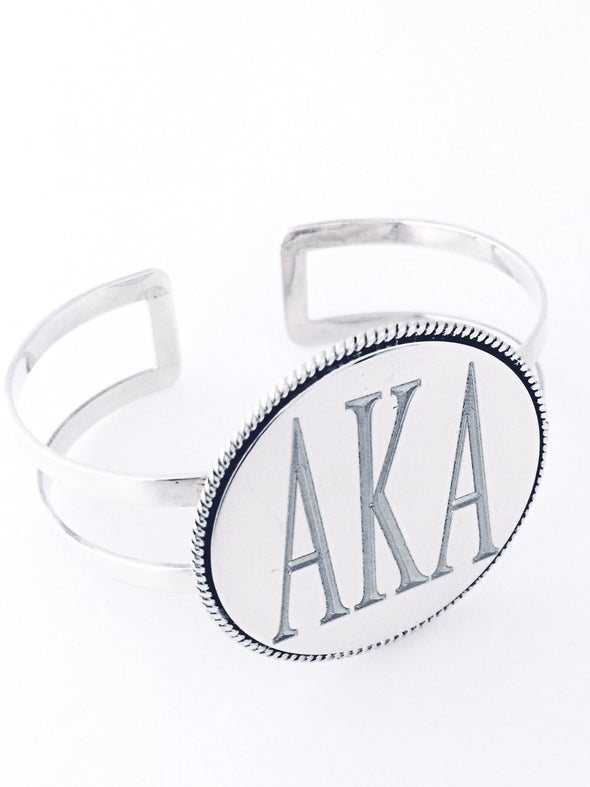 AKA Thread Earrings - Alpha Kappa Alpha - The Sterling Link